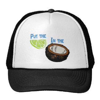Put the lime in the Coconut! Hat