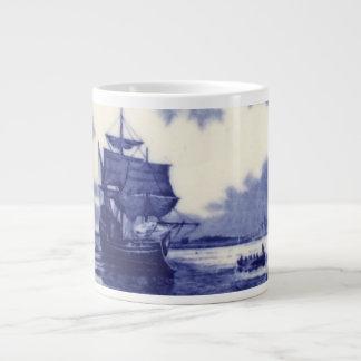 Put the Mayflower on your Mug: Discover Each Day Giant Coffee Mug
