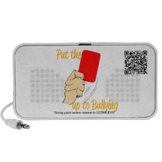 Put the RED CARD up to bullying!... Doodle Speaker