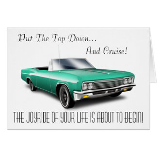 Put The Top Down... Card