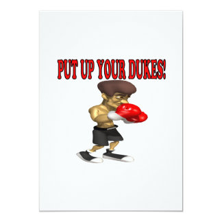 Put Up Your Dukes Card