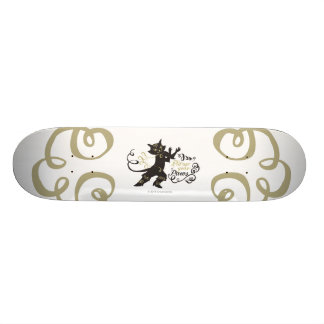 Put Up Your Paws Skateboard Deck