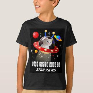 Put your Cat in an Alien Spaceship UFO Sci Fi Film T-Shirt