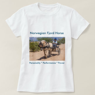 Put your Fjord horse here! T-Shirt