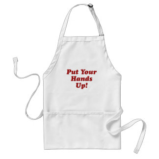 Put Your Hands Up Adult Apron