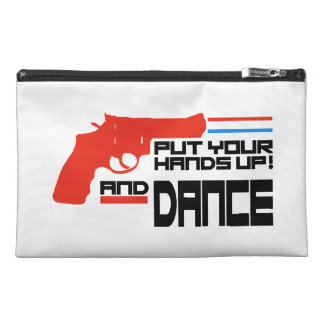 Put your hands up and Dance Travel Accessories Bag