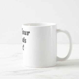 Put Your Hands Up Classic White Coffee Mug