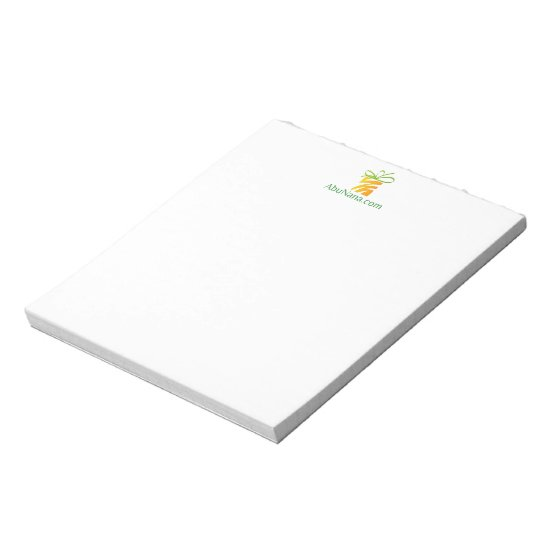 Put Your Logo Here Tablet Notepad