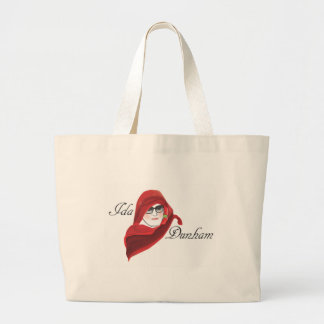Put your melons in this bag! jumbo tote bag