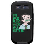 Put Your Money Samsung Galaxy S3 Covers