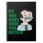 Put Your Money Spiral Note Book