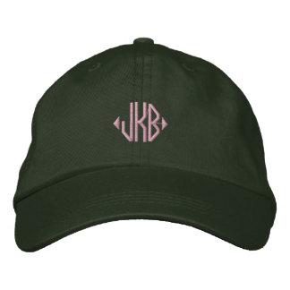 Put Your Monogram on a Cap