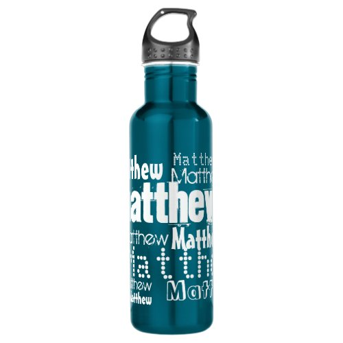Put Your Name All Over this Water Bottle