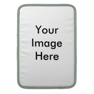 Put Your Own Image Here! Customizable Template MacBook Sleeve