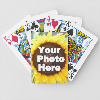 PUT YOUR OWN PHOTO ON GIFT friend mom grandma aunt Playing Cards