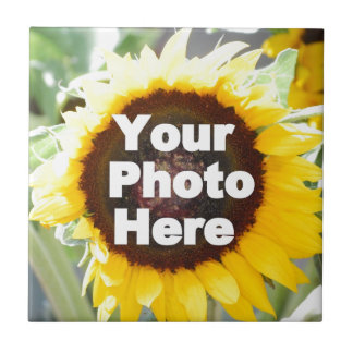 PUT YOUR OWN PHOTO ON GIFT friend mom grandma aunt Small Square Tile