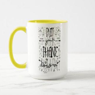 Put Your Phone Down (Rainbow Tint) Mug