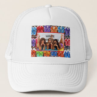 PUT YOUR PHOTO OR TEXT HERE... TRUCKER HAT