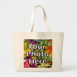 Put Your Picture Here for Great Gift Nana Dad Papa Tote Bag