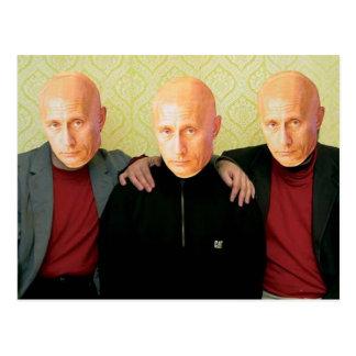 Putin Владимир Путин Postcard