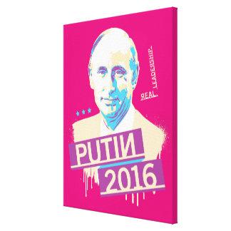 Putin 2016 canvas print