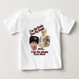 Putin and Palin Baby T-Shirt