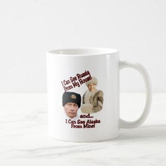 Putin and Palin Coffee Mug