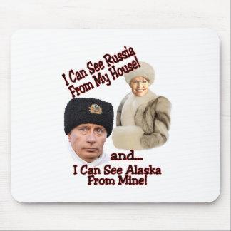 Putin and Palin Mouse Pad