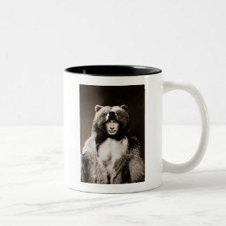 Putin el oso tazas de café