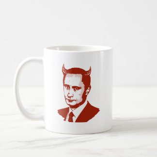 PUTIN IS THE DEVIL COFFEE MUG
