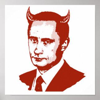 PUTIN IS THE DEVIL PRINT