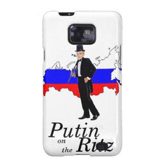 Putin on the Ritz Samsung Galaxy SII Cases