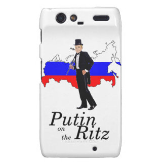 Putin on the Ritz Motorola Droid RAZR Case