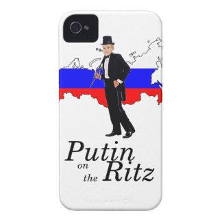 Putin on the Ritz iPhone 4 Case
