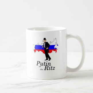 Putin on the Ritz Coffee Mug