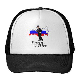 Putin on the Ritz Trucker Hats