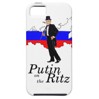 Putin on the Ritz iPhone SE/5/5s Case