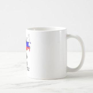 Putin on the Ritz Coffee Mugs