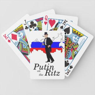 Putin on the Ritz Bicycle Card Decks