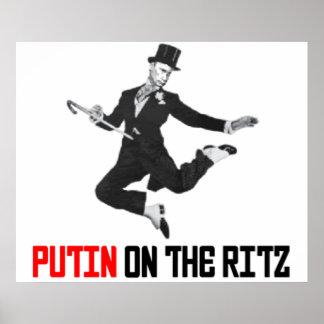 Putin On The Ritz Poster