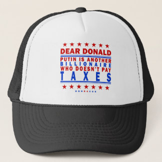 Putin Pay Taxes Trucker Hat
