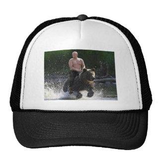 Putin rides a bear! trucker hat