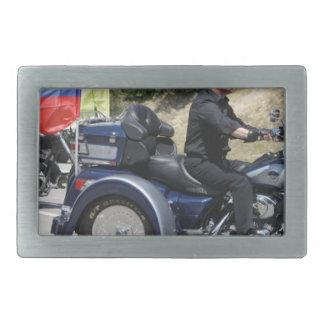 Putin rides a Trike! Rectangular Belt Buckle