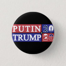 Putin Trump 2020 Pinback Button