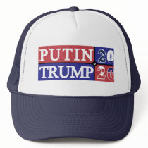 Putin Trump 2020 Trucker Hat
