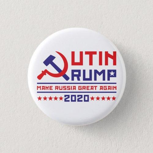 Putin Trump Make Russia Great Again Button