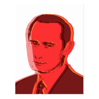 Putin vladimir post card