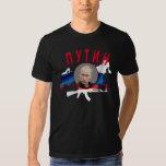 PUTIN with AK (dark) Tee Shirt