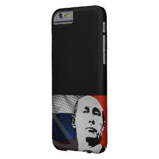 Putin with Russian Flag Barely There iPhone 6 Case