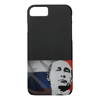 Putin with Russian Flag iPhone 8/7 Case